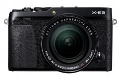 FUJI  X-E3  KIT 18-55mm schwarz
