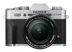 FUJI X-T20 + XF 18-55mm silber