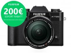 FUJI X-T20 + XF 18-55mm schwarz