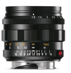 LEICA M  50mm 1.2 Noctilux, schw. eloxiert