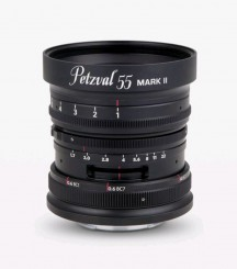 NEW PETZVAL 55mm 1.7 MKII Messing f. Canon RF