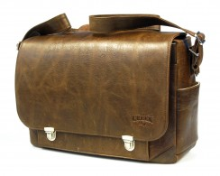 FUR CREEK BAGS Messenger No.1 Tasche Leder, braun