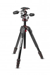 MANFROTTO 190 GO ALU Kit mit XPRO 3-Wege-Neiger