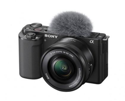 SONY Alpha ZV-E10 +16-50mm OSS schwarz