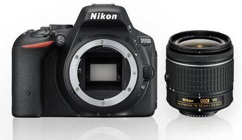 NIKON D5500 KIT AF-P DX 18-55mm G VR schwarz