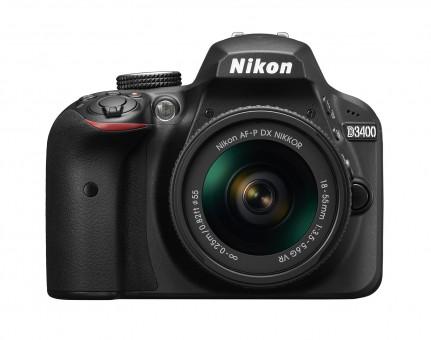 NIKON D3400 KIT AF-P 18-55mm VR schwarz