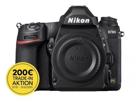 NIKON D780 Gehäuse mit  € 200,- Trade-in Bonus