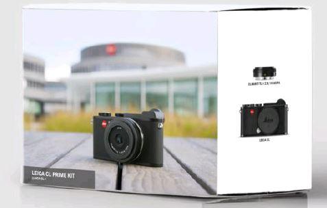 LEICA CL Prime Kit 18mm 2.8 schw.
