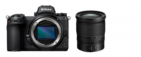 NIKON Z7II Kit 24-70mm 4.0 S € 200,- trade-in