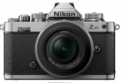 NIKON Z fc Kit Z DX 16-50mm 3.6-6.3 VR Silver