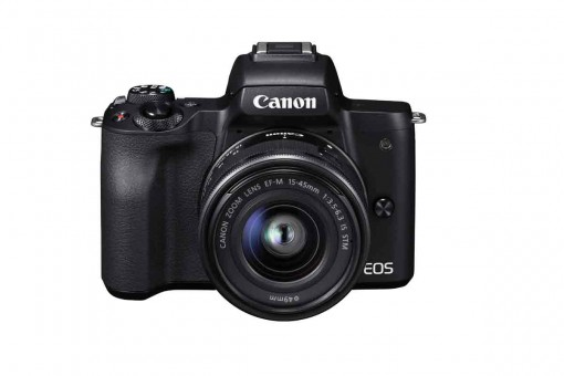 CANON EOS M50 Doppel Zoom Kit 15-45 + 55-200 IS STM