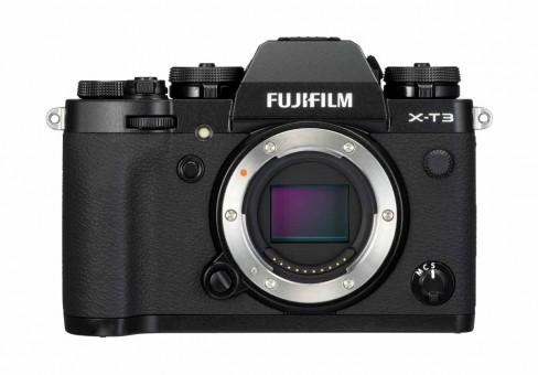 FUJI X-T3 Gehäuse schwarz