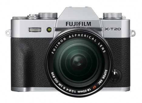 FUJI X-T20 KIT XF 18-55mm silber