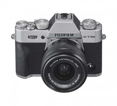 FUJI X-T30 Kit XC 15-45mm silber
