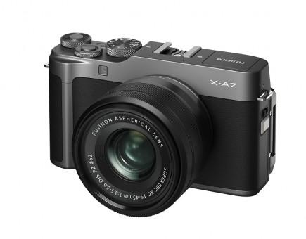 FUJI X-A7 + XC15-45mmF3.5-5.6 OIS dunkelsilber