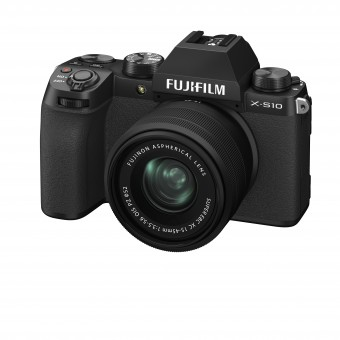 FUJI  X-S10 + XC 15-45mm Kit schwarz
