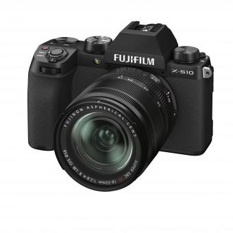 FUJI  X-S10 + XF 18-55mm Kit schwarz