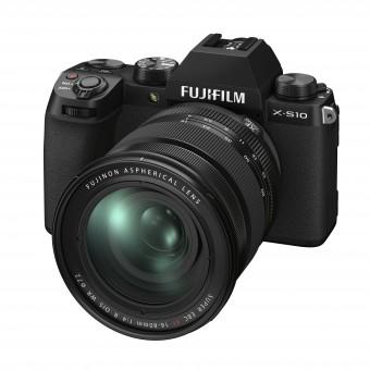 FUJI  X-S10 + XF 16-80mm Kit schwarz