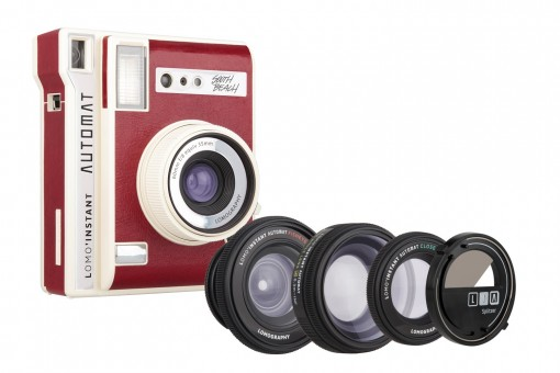 LOMOGRAPHY INSTANT AUTOMAT LUXURY & LENSES