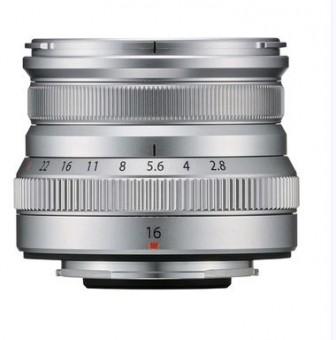 FUJI  XF 16mm 2.8 R WR silber