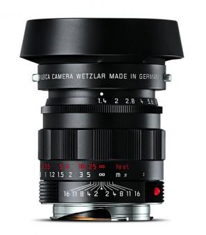 LEICA M  50mm 1.4 SUMMILUX asph. schwarz verchromt