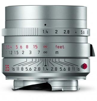 LEICA M  35mm 1.4 SUMMILUX asph. silbern eloxiert QM2