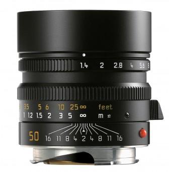 LEICA M  50mm 1.4 SUMMILUX asph. schw. elox.