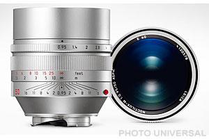 LEICA M  50mm 0.95 NOCTILUX asph. silbern eloxiert