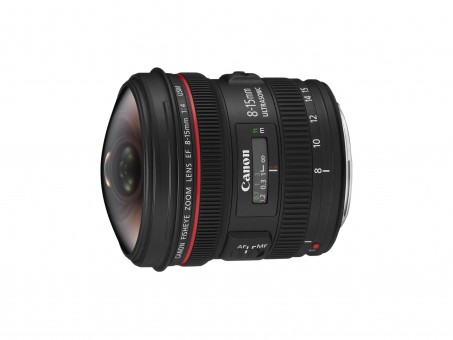 CANON EF L  8-15mm 4 USM Fisheye