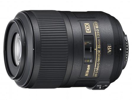 NIKON AF-S DX  85mm 3.5 G VR ED MICRO