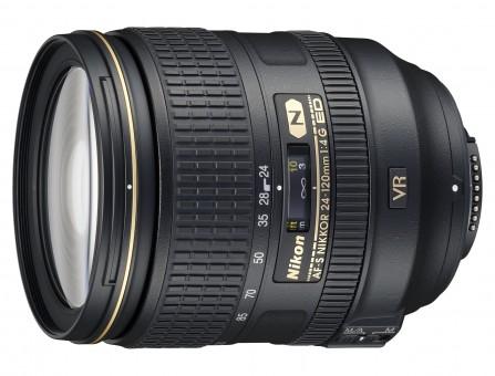 NIKON AF-S  24-120mm 4.0 G VR ED