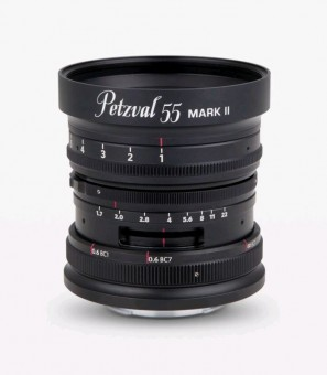 NEW PETZVAL 55mm 1.7 MKII Messing f. Nikon Z