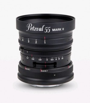 NEW PETZVAL 55mm 1.7 MKII Messing f. Sony E