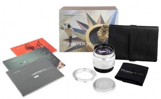 LOMO JUPITER 3+ 50mm 1.5 OBJEKTIV f. L39/M-Mount
