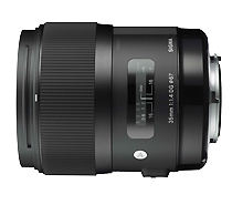 SIGMA AF 35mm 1.4 A DG HSM f. Sony