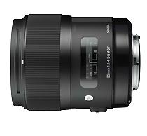 SIGMA AF 35mm 1.4 A DG HSM f. Nikon