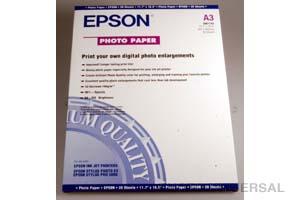 EPSON FOTOPAPIER A3 20 BLATT