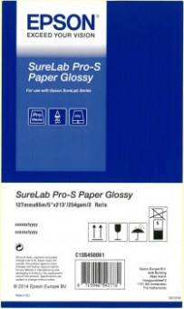 """EPSON SURELAB PRO-S PAPER GLOSSY 5""""X65M 2ROLLEN"""