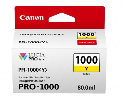CANON PRO 1000 TINTE Yellow Y 80ml