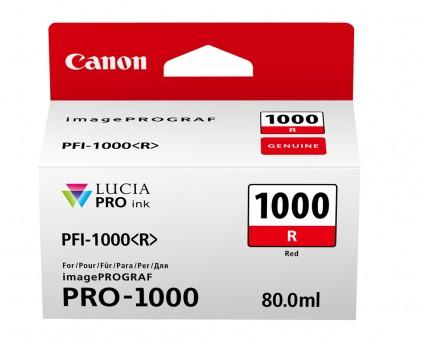 CANON PRO 1000 TINTE ROT R 80ML