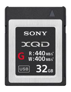 SONY XQD 32GB G HIGH R440/W400 MB/s