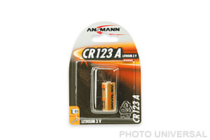 ANSMANN BATTERIE CR123A LITHIUM 3 VOLT