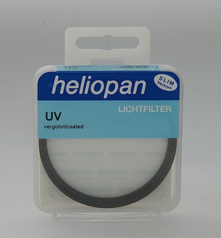 HELIOPAN UV FILTER 58 MM NORMALVERGÜTUNG