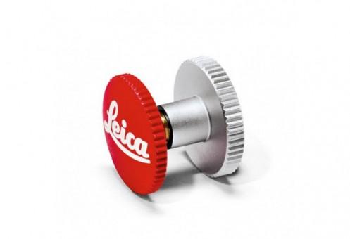 LEICA SOFTAUSLÖSER 12mm, Weiß-Rot 14010