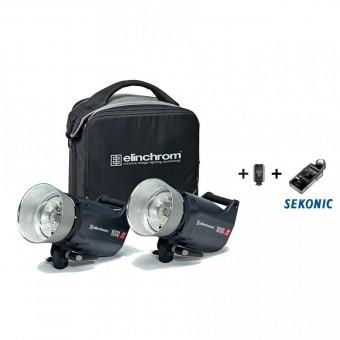 ELINCHROM ELC PRO HD 1000/1000 TO GO + SEKONIC L-478 DR-EL