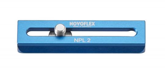 NOVOFLEX NPL2 KLEMMPLATTE 70MM MIT 1/4 - NATO