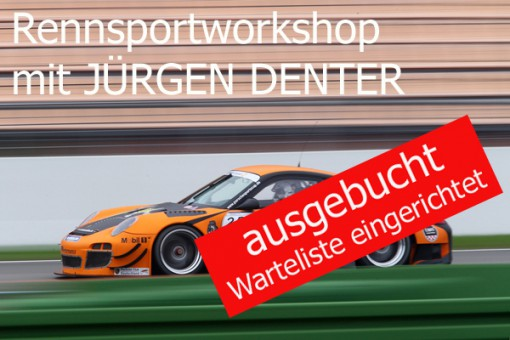 RENNSPORTWORKSHOP MIT JÜRGEN DENTER 21.10.2017