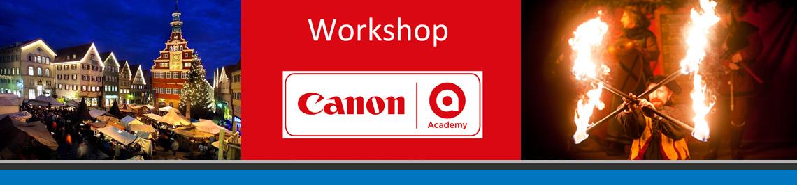Canon Weihnachtsworkshop