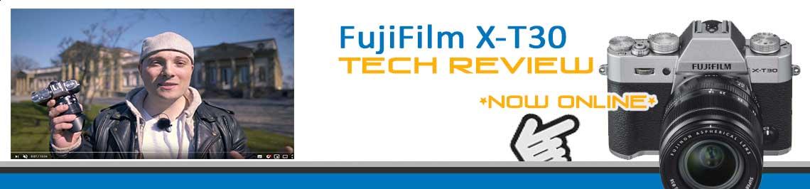 Fuji X-T30 Banner