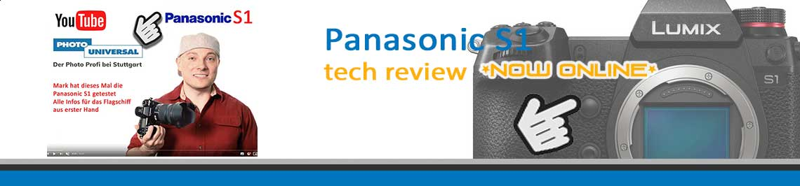 Panasonic S1 Youtube Banner